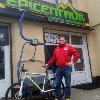 Nowy rower do treningów skompletowany przez Epicentrum Gdynia