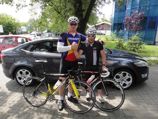 Trening kondycyjny z Bogumiłem Głuszkowskim i ekipa CityZen Poznan