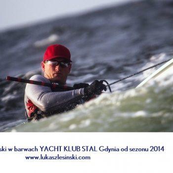W barwach YACHT KLUB STAL Gdynia od sezonu 2014